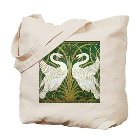 SWANS GREEN Tote Bag