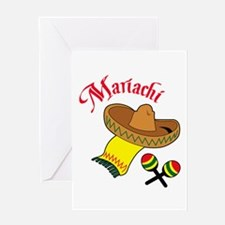 MARIACHI Greeting Cards