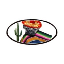 Mexican pug dog Patches