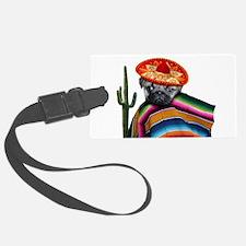 Mexican pug dog Luggage Tag