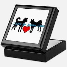 I love My Korean Jindo Keepsake Box