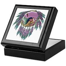 Eagle Maiden Tiled Keepsake Box