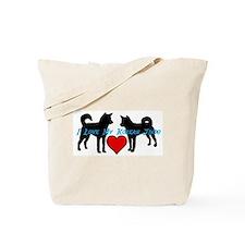 I love My Korean Jindo Tote Bag