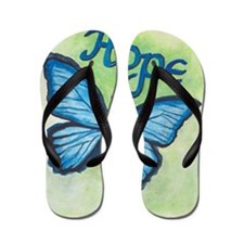Unique Butterfly Flip Flops