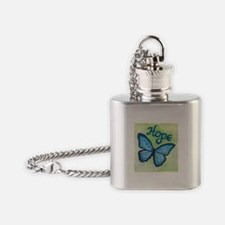 Cute Hope Flask Necklace