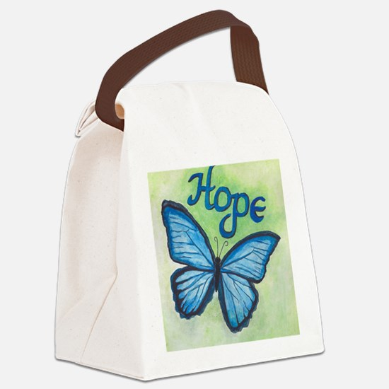 Cute Hope Canvas Lunch Bag