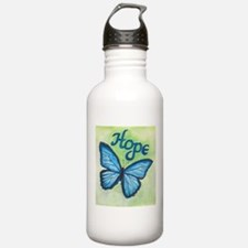 Cute Butterfly Sports Water Bottle