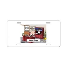 Attorney or Executive, Male Aluminum License Plate