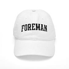 FOREMAN (curve-black) Baseball Cap
