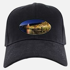 Camogli at evening Baseball Hat
