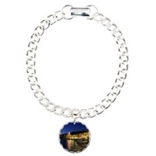 Camogli at evening Charm Bracelet, One Charm