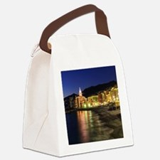 Camogli at evening Canvas Lunch Bag