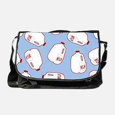 Milk Jugs Pattern Messenger Bag