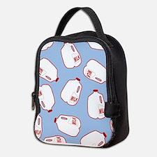 Milk Jugs Pattern Neoprene Lunch Bag