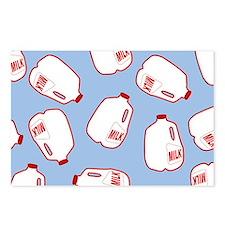 Milk Jugs Pattern Postcards (Package of 8)