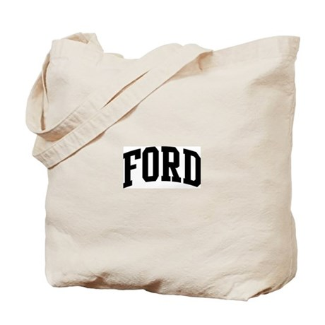 FORD (curve-black) Tote Bag