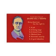 2nd Bill of Rights Rectangle Magnet (10 pack)