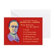 2nd Bill of Rights Greeting Cards (Pk of 10)