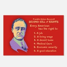 2nd Bill of Rights Postcards (Package of 8)