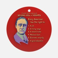 2nd Bill of Rights Ornament (Round)