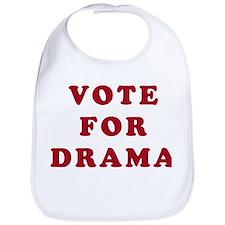 Vote for Drama - Entourage Bib