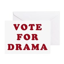 Vote for Drama - Entourage Greeting Cards (Package