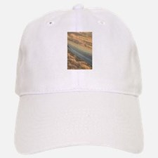 Airplane flying in sky wing in flight Baseball Baseball Cap