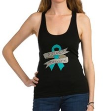 Ovarian Cancer Racerback Tank Top