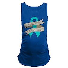 Ovarian Cancer Maternity Tank Top