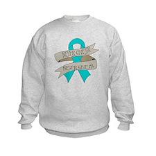 Ovarian Cancer Sweatshirt