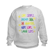 Live Simple 2 Sweatshirt