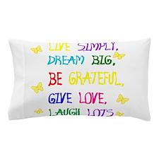 Live Simple 2 Pillow Case