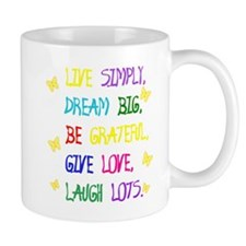 Live Simple 2 Mugs