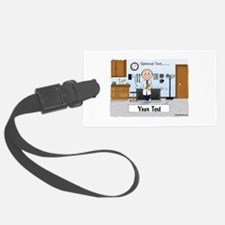 Doctor, Male Luggage Tag