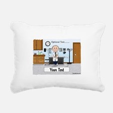Doctor, Male Rectangular Canvas Pillow