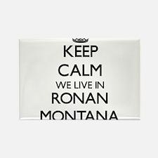 Keep calm we live in Ronan Montana Magnets