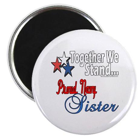 Navy Sister Magnet