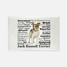 Jack Russell Traits Magnets