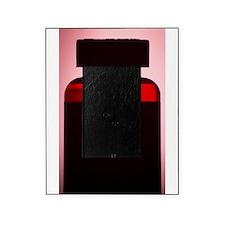 Vitamin pill bottle silhouette photo Picture Frame