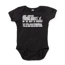 Fishing Addict Baby Bodysuit