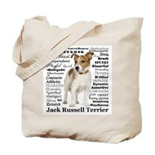 Jack Russell Traits Tote Bag