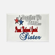 National Guard Sister Rectangle Magnet