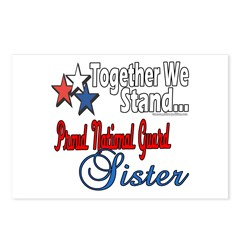National Guard Sister Postcards (Package of 8)