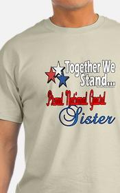 National Guard Sister T-Shirt