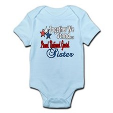 National Guard Sister Infant Bodysuit