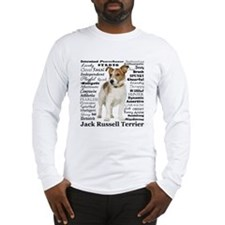 Jack Russell Traits Long Sleeve T-Shirt