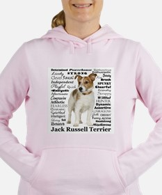 Jack Russell Traits Women's Hooded Sweatshirt