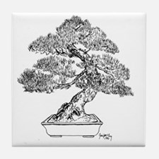 Unique Bonsai Tile Coaster