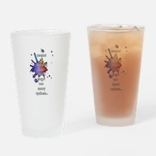 Behave 2 Drinking Glass