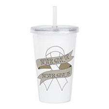 Lung Cancer Acrylic Double-wall Tumbler
